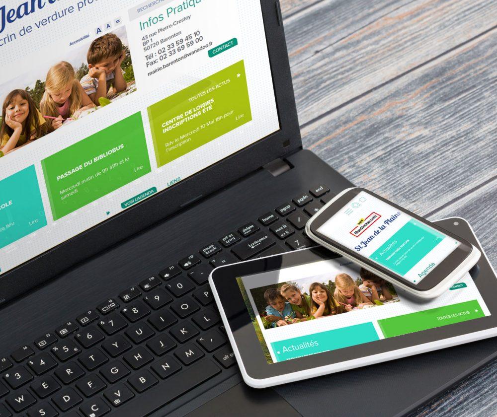 L'offre MonClocher, créateur de site internet responsive pour les communes.