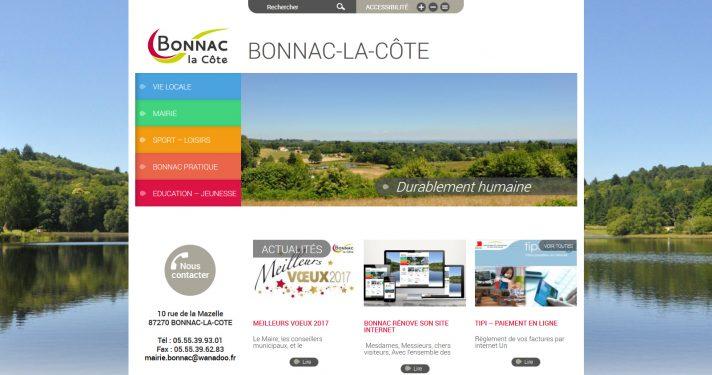 Commune de Bonnac-La-Côte (87)