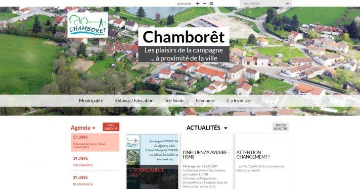 Commune de Chamborêt (87)