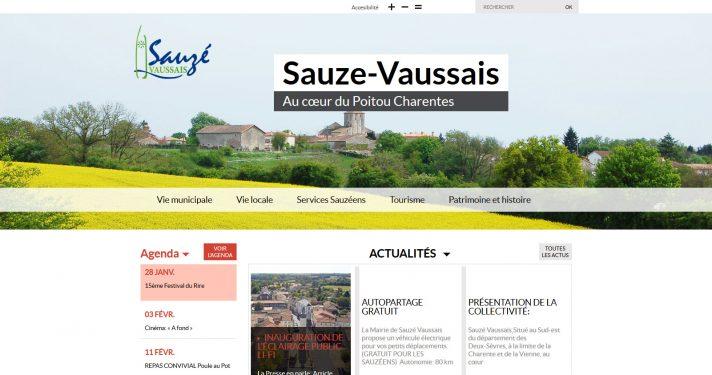Commune de Sauzé-Vaussais (79)