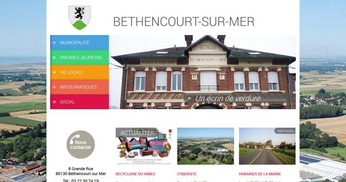 Commune de Béthencourt-sur-Mer (80)