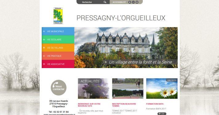 Commune de Pressagny-l'Orgueilleux (27)