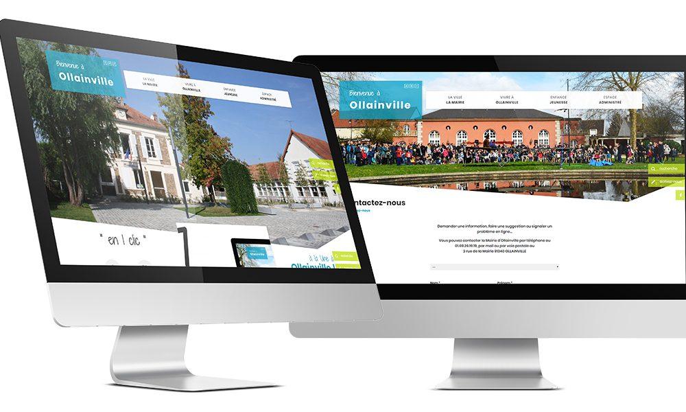 Site internet de la commune d'Ollainville